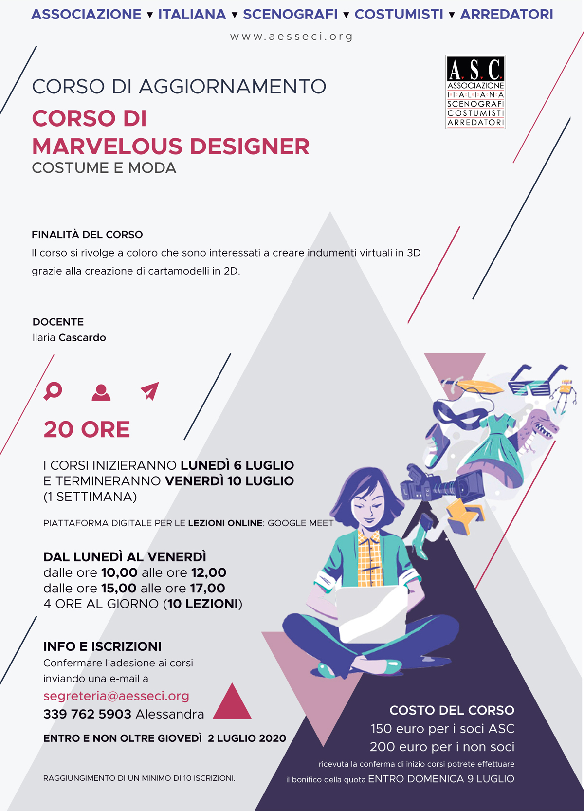 corso marvelous design